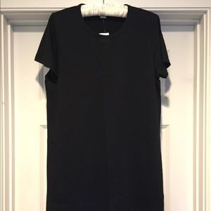 Black JCrew T-shirt dress NWT